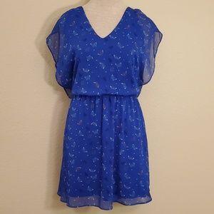 Candies blue butterfly dress XL